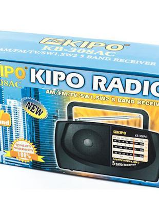 Радиоприемник Kipo KB 308 Черный