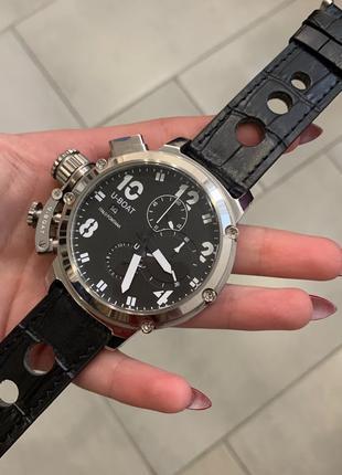 Наручные часы U-boat Battery Black-Silver Наручний годинник часи