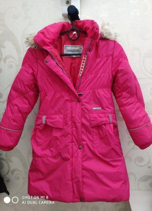 Зимнее пальто для девочки Lenne