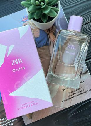 Zara orchid 200 мл духи парфюмерия туалетная вода оригинал...