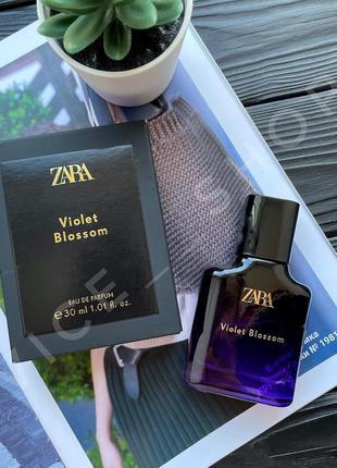 Zara violet blossom духи парфюмерия туалетная вода оригинал...