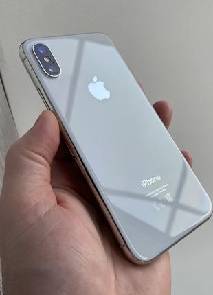 IPhone Xs 64gb Silver Neverlock #i191