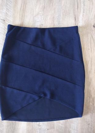 Мини юбка карандаш
