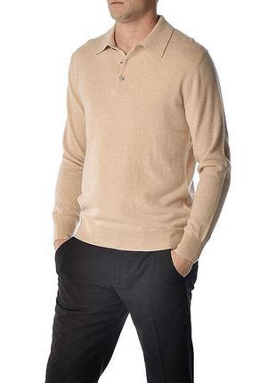 Кашемировый свитер поло franco callegari джемпер 100 % cashmere