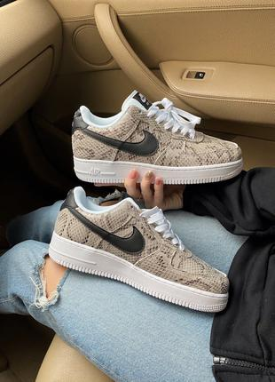 Женские кроссовки Nike Air Force 1 Low Snakeskin(36-40р)
