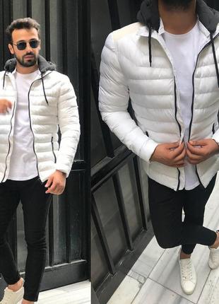 Зимняя мужская куртка парка бомбер наложенным платежом