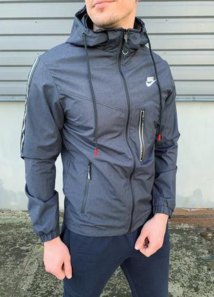 Спортивная ветровка, мужская куртка nike, весенняя куртка