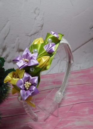 Обруч квіти