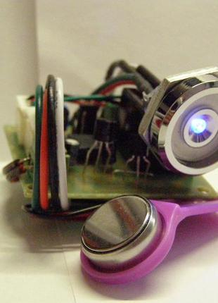 Замок электронный -иммобилайзер универсальный с ключами iButton