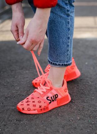 👟 кроссовки женские adidas nmd supreme адидас / наложенный пла...