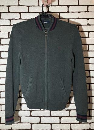 Классический свитер на замке fred perry