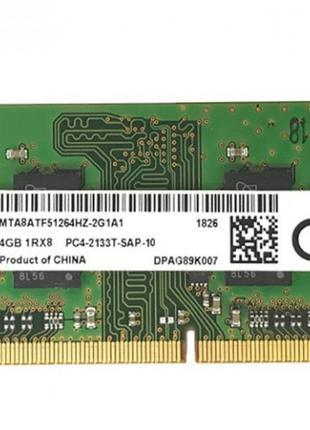 Micron SODIMM DDR4 4Gb 1Rx8 2400Mhz
