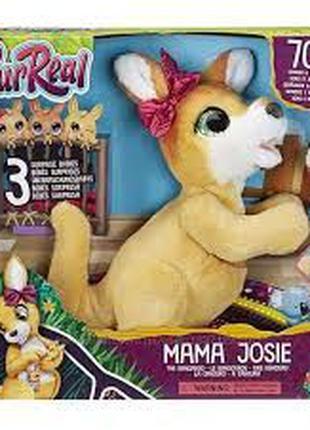 Интерактивная игрушка Furreal Friends Мама Джоси Кенгуру Mama ...