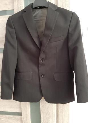 Пиджак жакет школьный классический школьная форма на мальчика ...