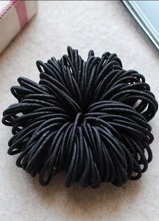 Эластичная резинка для волос диаметр 3 см
