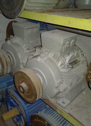 Электродвигатель siemens 1.7/5.4 квт 1000/1500об 2шт с хранения