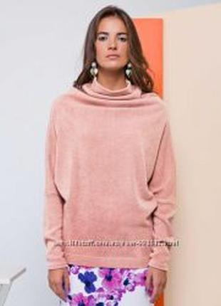 Новый свитер пудра розовый размер 42 s - xs