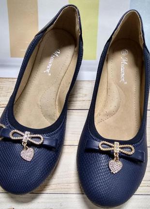 Туфли для девочек 38рр
