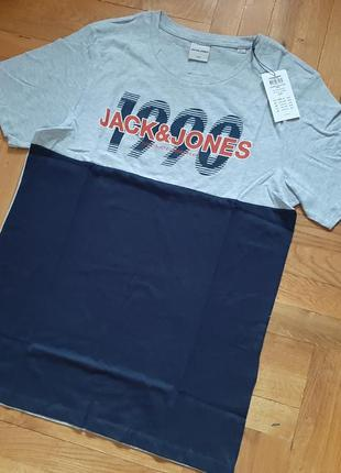 Фирменная футболка.jack&jones