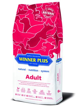 WINNER PLUS Сухий корм для дорослих собак 18 кг