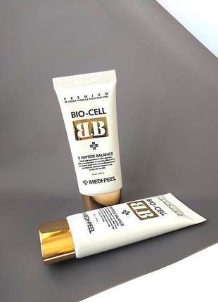 Bb-крем с комплексом пептидов medi-peel bio-cell bb cream