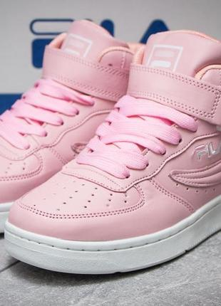 Женские кроссовки розовые