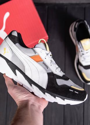 Мужские кожаные кроссовки  Puma Runner