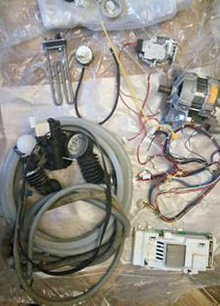 Електродвигатель и другие детали к стиральной машины Аристон