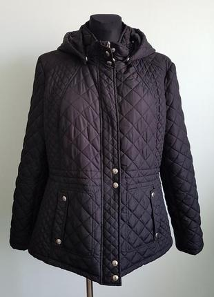 Стеганная куртка/парка  демисезон l/xl