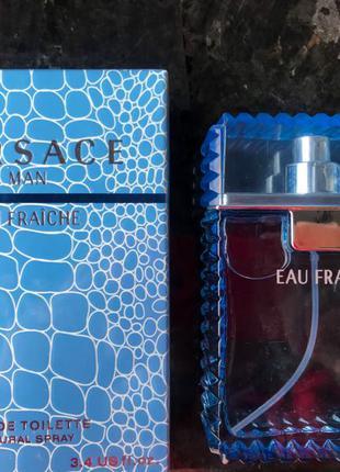 Мужская туалетная вода Versace eau fraiche/ чоловічі парфуми