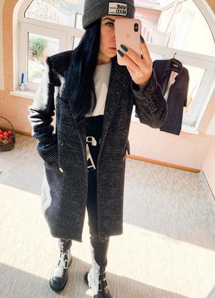 Пальто зара теплое