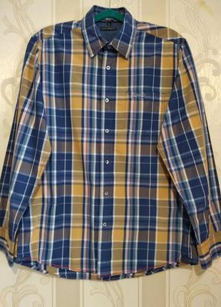 Рубашка клетчатая , l.