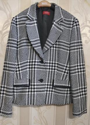 Пиджак классика, теплый.