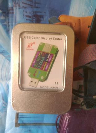 Usb тестер цветной экран