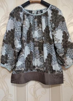 Шелковая блузка, 100% шелк.