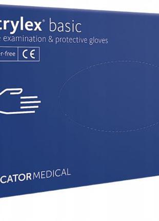 """Рукавиці нітрилові """"Mercator medical"""" Nitrylex M / Перчатки нитри"""