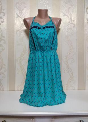 Платье сарафан со спинкой борцовка, индия.
