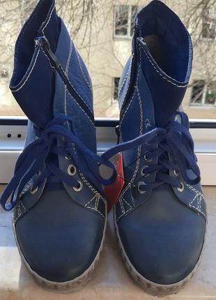 Новые демисезонные ботинки Robson, р. 38,5-39