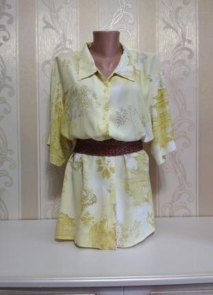 Блуза, рубашка с коротким рукавом , rodoni, большого размера