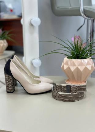 Шикарные женские туфли 👠 любой цвет кожа италия