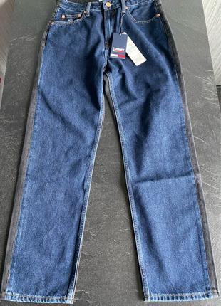 Новые женские джинсы Tommy Hilfiger колорблок