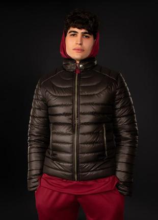Куртка стеганная демисезонная базовая черная | стьобана весна ...