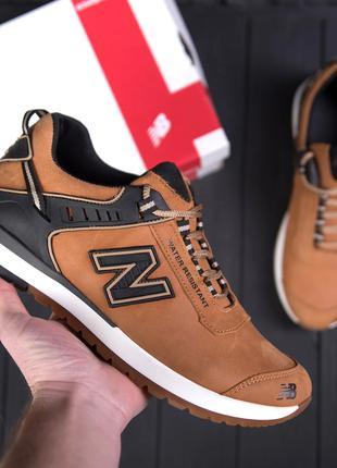 Мужские кожаные кроссовки NB Clasic