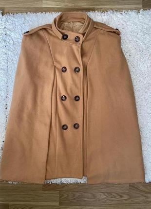Женское шикарное винтажное пончо пальто жилетка