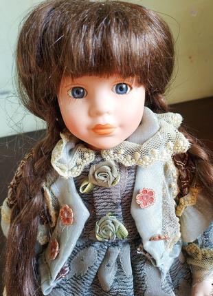 Кукла Коллекционная натуральные волосы, эксклюзивная работа.