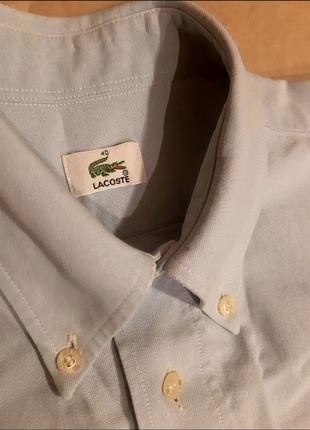 Чоловіча рубашка Lacoste L 100% бавовна