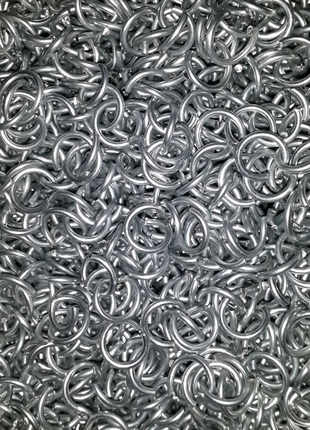 Кольчужные кольца/ кольца для кольчуги/ кольца для плетения кольч