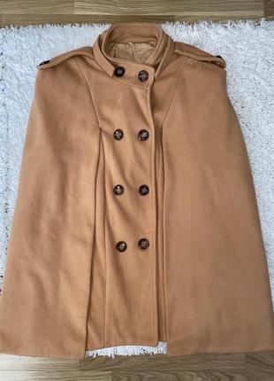 Женское шикарное винтажное пончо пальто кейп  жилетка
