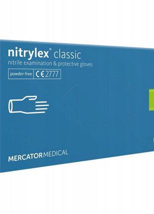 """Рукавиці нітрилові """"Mercator medical"""" Nitrylex S / Перчатки нитри"""