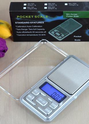Ювелирные весы электронные карманные от 0.01-200г. MH-200